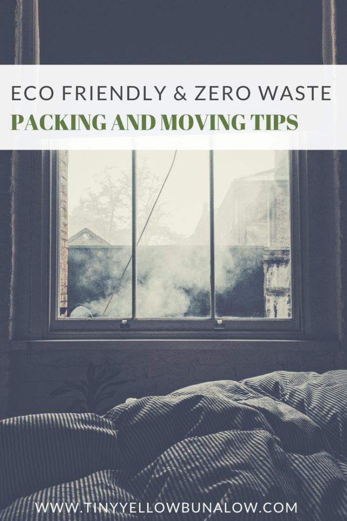 eco friendly, zero waste packing moving
