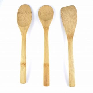 Bamboo Kitchen Basics Utensil Set