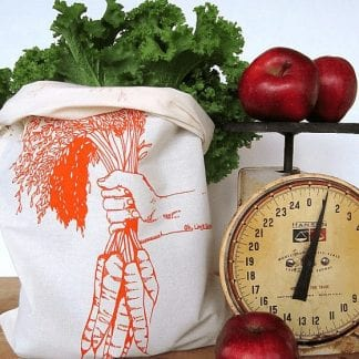carrots reusable produce bag