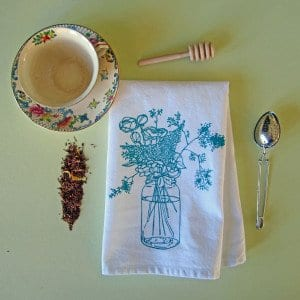 Flower Cloth Napkin
