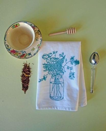 Flower Cloth Napkin