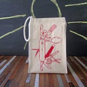 Pocket Knife Lunch Bag