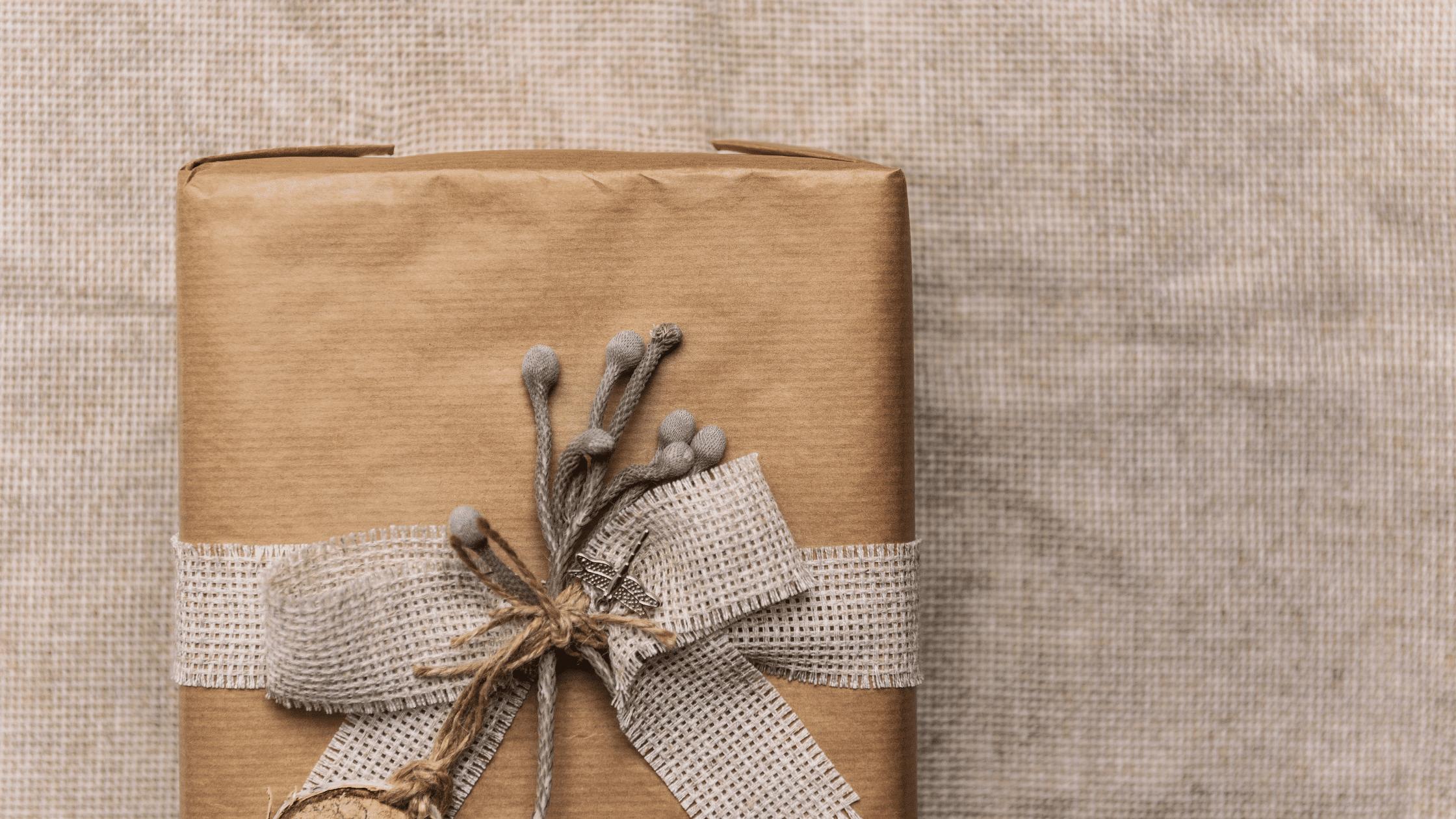 zero waste gift giving