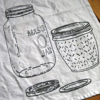 Mason Jar Cloth Napkin
