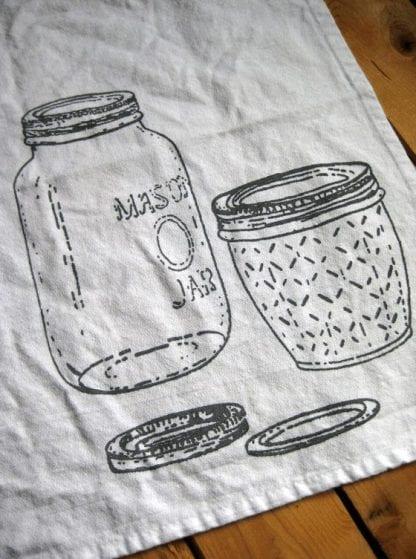 Mason Jar Cloth Napkin