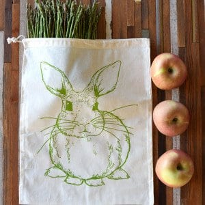 Rabbit Reusable Produce Bag