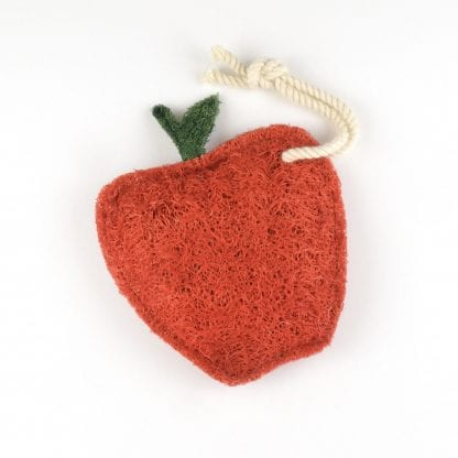 Apple Natural Kitchen Loofah Scrubber