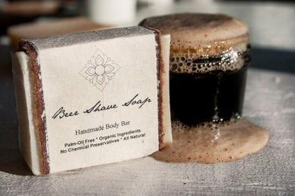 Handmade Organic Shave Soap Bar