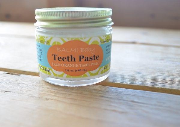 Zero Waste Tooth Paste