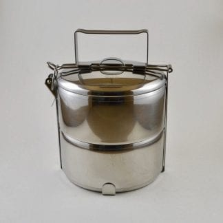 stainless steel 2 layer tiffin food storage container
