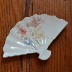 Fan Shaped Vintage Soap Dish