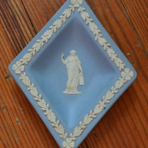 Vintage Wedgwood Pale Blue Soap Dish