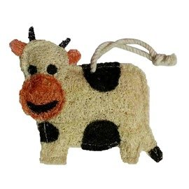 Cow Natural Loofah Kitchen Scrubber
