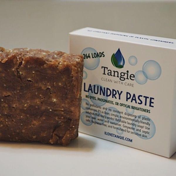 zero waste laundry paste