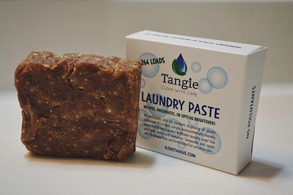 Organic Vegan Zero Waste Laundry Soap Tiny Yellow Bungalow
