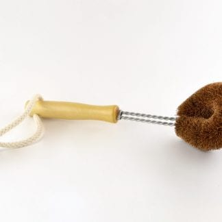 plastic free wooden dish brush