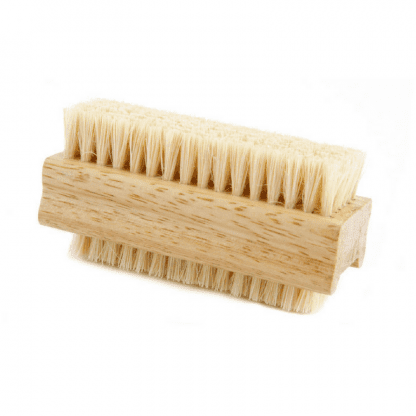 wood nail brush