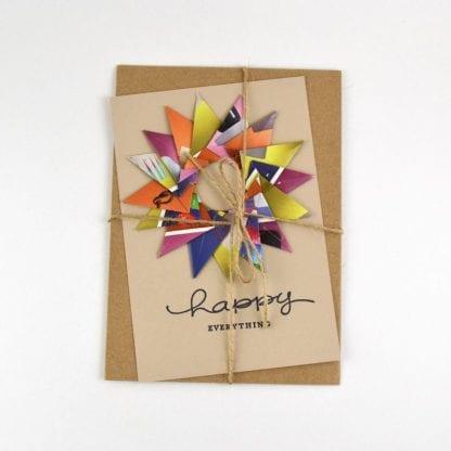 Recycled & Handmade Greeting Card