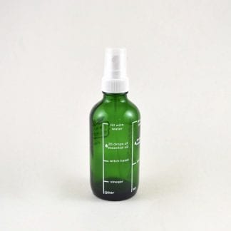Glass Refillable Fine Mist Spray Bottle