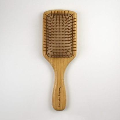 wood hairbrush