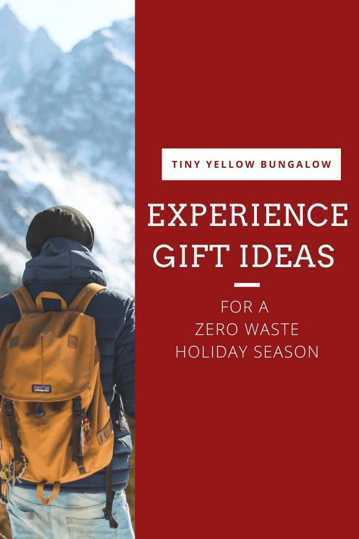 experience gift ideas