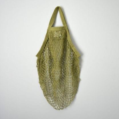 Sage Reusable Cotton String Bag