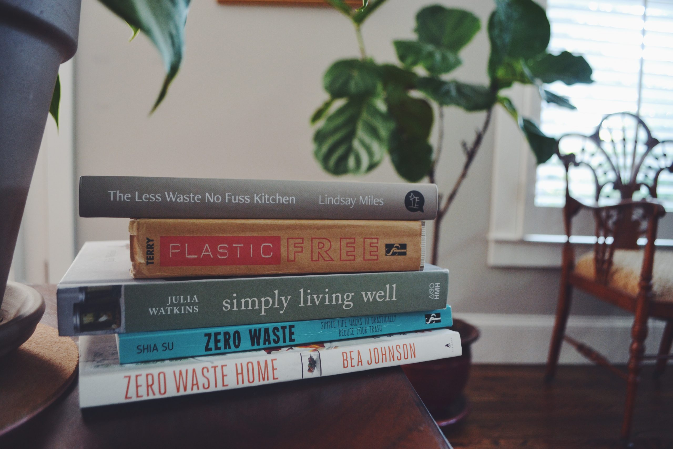 zero waste and sustainability books