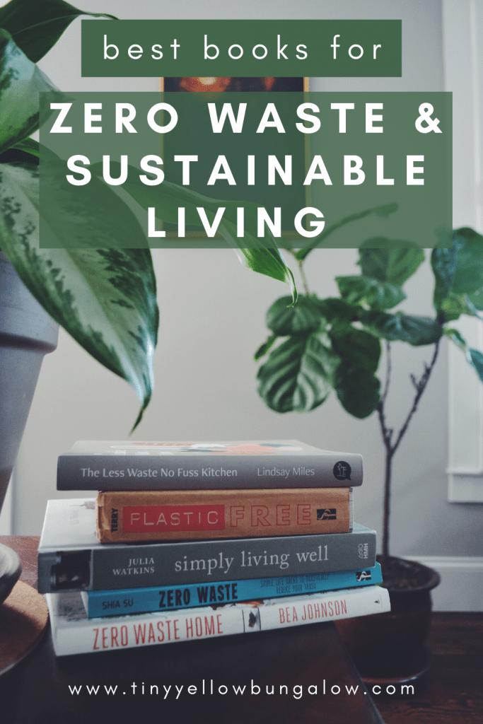 zero waste and sustainability books