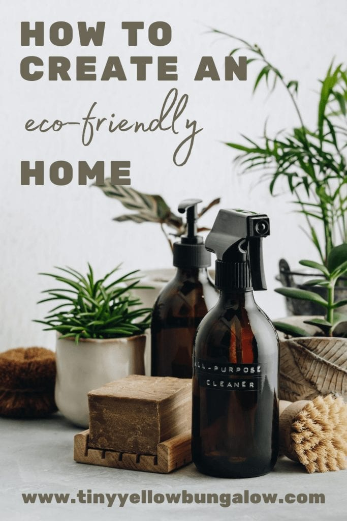create and eco-friendly home